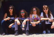 METALLICA  1990s DIAPOSITIVE DE PRESSE ORIGINAL VINTAGE SLIDE #34