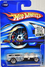 HOT WHEELS 2006 WAY 2 FAST #152 SILVER FACTORY SEALED