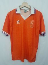Maglia calcio Lotto Olanda vintage 90 Shirt Soccer Camiseta Netherlands rare 90