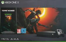 Xbox One X 1TB Shadow of the Tomb Raider Bundle, schwarz - Neu & OVP, Händler