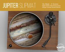 """Jupiter Planet Turntable Slipmat - 12"""" LP Record Player, DJ Space Slip Mat"""