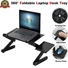 Portable 360° Adjustable foldable Laptop Notebook Desk Table Stand Bed Tray New