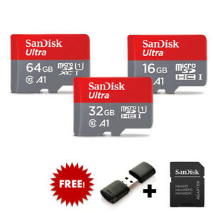 Sandisk Micro SD 64GB 32GB 16GB SD/TF Flash Card Memory Card Class 10 microSD