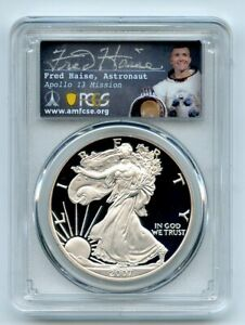2007 W $1 Proof American Silver Eagle PCGS PR70DCAM Fred Haise