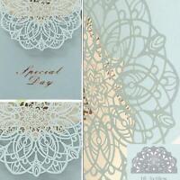 lace Cutting Die Scrapbooking Metal Die Cut Cards Making Wedding Decorative DIY
