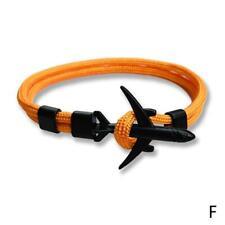 Plane Bracelets Men Charm Rope 550 Paracord Bracelet Jewelry Hooks Best
