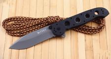 Couteau CRKT M21 Carson Folder Manche Black G10 Acier 8Cr14Mov Titane CR2104G