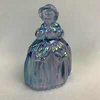 Boyd Art Glass Marguerite the Doll - Purple Valor Carnival