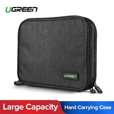 Ugreen Electronic Organizer Double Layer Travel Gadget Bag Fr Hard Drive SD Card