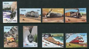 Nevis 1991 Philex Nippon complete SG 632-639 UM/MNH