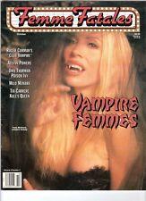WoW! Femme Fatales V6#4 Vampire Femmes! Club Vampire! Tia Carrere! Uma Thurman!