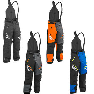 Men's FLY Racing SNX Pro Bibs Snowmobile Pants Winter Snow Bib Pants 470-425