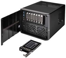 """Premium 8-bay 2.5"""" Small Form Factor nas Chassi"""