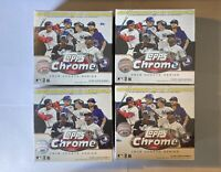 2020 Topps Chrome Update Series Baseball Cards White Sealed Mega Boxes Lot Of 4