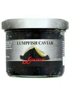 2 Launis Black Lumpfish Caviar 100g × 2