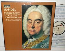 SDDB 294/7 Handel 6 Concerti Grossi Opus3 12 Concerti Grossi Opus6 4LP Box Set