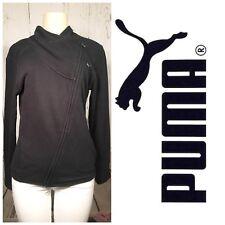 Women's Puma Zip Up Jacket Size Small Black