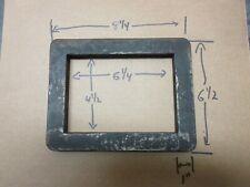 Letterpress 4 1/2  X 6 1/4  Steel Chase    c47
