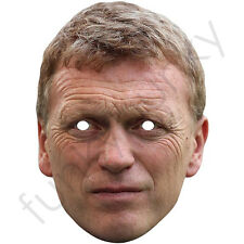 David Moyes Football Manager Celebrity Card Mask - All Our Masks Are Pre-Cut!
