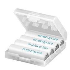 8x AA SANYO/Panasonic Eneloop LITE AKKUS 950 mAh vorgeladen inkl. Akku-Box LITE