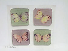 16 Butterfly Gems Decorate Shower Tiles Bath Tub Appliques Decal Stickers Repair
