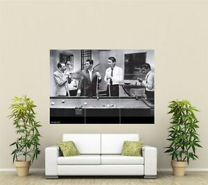 The Rat Pack Giant XL Section Wall Art Poster MU143