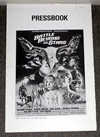 BATTLE BEYOND THE STARS original 1980 pressbook ROBERT VAUGHN/RICHARD THOMAS