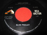 ELVIS PRESLEY 45 - LOVE LETTERS / COME WHAT MAY 47-8870