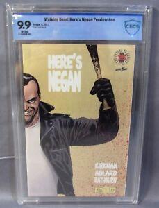 HERE'S NEGAN PREVIEW #1 (Image Blind Box 1:500) CBCS 9.9 Mint Walking Dead cgc