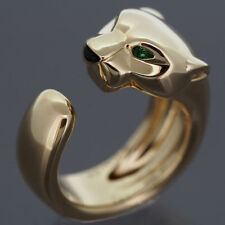 CERTIFIED-PANTHER-PEAR-EMERALD-14KGOLD-WEDDING-ENGAGEMENT-WOMEN-ANIMAL-RING