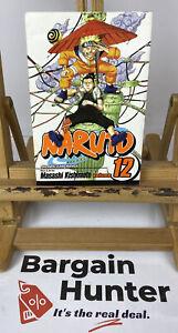 Naruto, Volume #12 by Masashi Kishimoto Shonen Jump Manga Graphic Novel