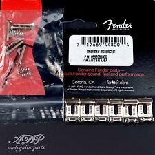 6 Saddles Fender American US Vintage Stratocaster nichel 0992051000