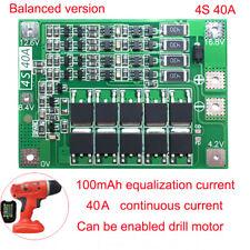 4S 40A 18650 Li-ion Batterie BMS LiFePO4 Schutzplatte Schutzbrett für Bohrmotor