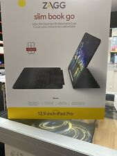 "ZAGG Slim Book Go Ultra-Slim Keyboard & Case - iPad Pro 12.9""  -  New Open Box"