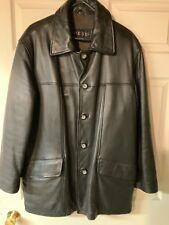 Guess men's leather coat Medium