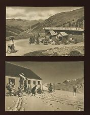 ANDORRA Envalira Summit x2 c1930/40s? printed PPCs by V Claverol