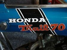 CT70H Trail CT70HKO 70H frame decals, graphics,