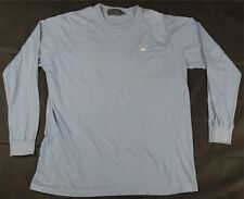 Rare VTG POLO COUNTRY Dry Goods Pocket Spell Out LS T Shirt 90s Ralph Lauren XL
