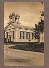 VINTAGE POSTCARD UNUSED BAPTIST CHURCH PRESTON HOLLOW NEW YORK