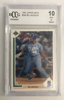 1991 Upper Deck Bo Jackson #545 BCCG 10 GEM MINT