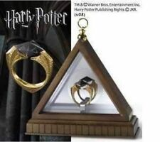 Hot Harry potter deathly Horcruxes Resurrection Stone Retro Bronze Crystal Ring