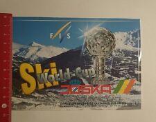 Aufkleber/Sticker: Ski World Cup Joska Crystal (141216106)