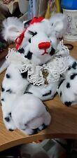 Handmade jester winter bear