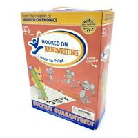 Hooked On Handwriting LEARN TO PRINT Ages 4-6 PreK to 1st Grade Home Schooling