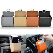 1PC Car Seat PU Back Tidy Storage Coin Bags Case Pocket Hanging Holder Pouch Box