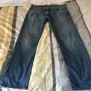 "Levi's 504 Mens Jeans 38"" Waist 34"" Leg 38 x 34 Zip Fly Blue"