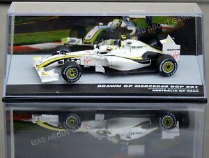 BRAWN GP MERCEDES BARRICHELLO 1:43 Scale F1 Toy Car Model Formula One Miniature