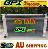 52MM GPI aluminum radiator for Holden VT VX HSV Commodore V8 GEN3 LS1 5.7L
