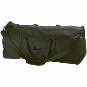 Xcase Faltbare XXL-Jumbo-Canvas-Reisetasche mit Schultergurt, 105 Liter
