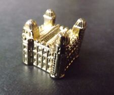 THE TOWER OF LONDON  GOLD COLOURED MONOPOLY MOVER PIECE